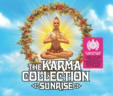 THE KARMA COLLECTIVE SUNRISE various (2X CD compilation, mixed) downtempo, house