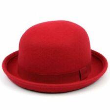 Gorras y sombreros de mujer bombines 100% lana