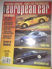 European Car Magazine Bmw 2002 tii Fuel Injection March 1995 042217nonrh