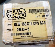 """Sun-Gard Madico Window Film roll: """"SILVER 15%"""" 48"""" W x 20' L Car, Home."""
