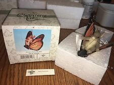 "Charming Tails ""Maxine'S Butterfly Ride"" Signed By Dean Griff Fitz And Floyd"