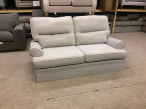 M&S Berkeley Split Back Medium Sofa In Meredith Silver Grey Fabric RRP £899