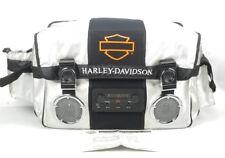 Harley Davidson Cooler Bag Radio Silver Black Bar & Shield 32 Qt 18 Pack Tested