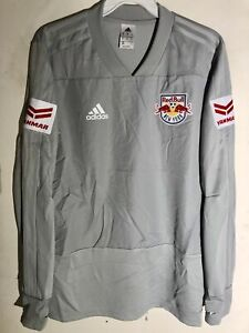 Adidas MLS Jersey New York Red Bulls Team Grey Alt sz M