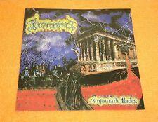 Incarnatus - Sinfonia De Hades, Album - CD, 2001 Black Castle Prod. Black Metal.