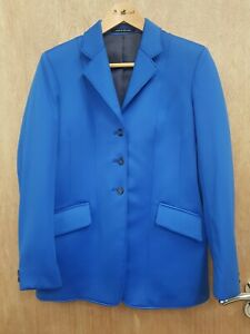 NEW ** MEARS ONE OFF ** RARE BLUE THICK SOFTSHELL SHOW JACKET SIZE 34 / LADIES 8