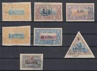 Bi6117/ FRENCH SOMALILAND – 1894 / 1902 USED CLASSIC LOT – CV 340 $