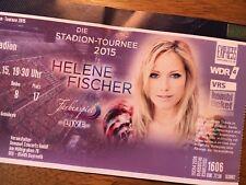 HELENE FISCHER, Ticket Köln, Gebraucht. FANTICKET, ungeknickt!!!
