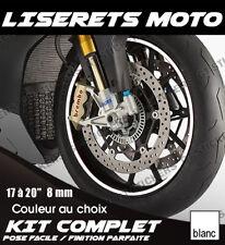 KIT LISERET DE JANTES pour AUTO / MOTO // EPAISSEUR de 6 a 10mm au choix - LNJ23