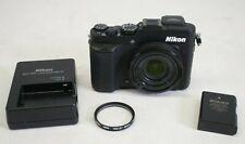 Nikon Coolpix P7800 12.2 MP Digital Camera - Black