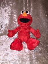 "Tickle Me Elmo 13"" Sesame Street Hasbro Playschool 2011 Talking Laughing Shaking"