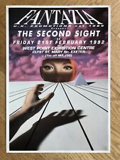 Fantazia - The Second Sight rave flyer 1992