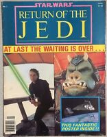 STAR WARS RETURN OF THE JEDI Poster Magazine #1 (1983)