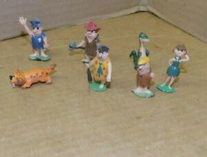 1960's Marx TV Tinykins the Flintstones lot of 7