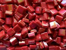 100g Square Opus 48 SP Red Pearl 12mm x 12mm x 5.5mm Mosaic Tile