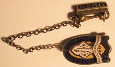 Vintage Sterling Lapel Pin -Adaltioranitamur Saltfleet District Highschool Merit
