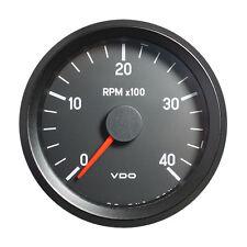 "Vdo cockpit international tachymètre gauge 4000 rpm 80mm 3.1"" 12V 333-035-002C"