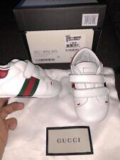 Gucci Soft Bottom Crib Shoes Sz18