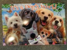 Leanin Tree It's A Dogs World 20 cards for all occasions