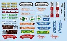Gofer Racing 1/24-1/25 Hometown Sponsor Logos #2 decals 11027 x