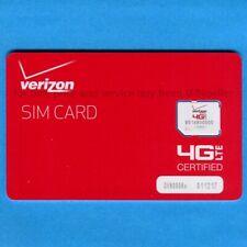 New Genuine Verizon Micro SIM Card • NFC • prepaid or postpaid plans