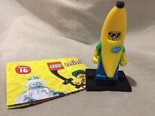 Lego Minifigure Series 16 Figure Banana Suit Guy Loose 71013