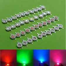 1W 3W High Power Red Blue Green Royal blue Pink LED Bulb Lamp Light Led bead diy