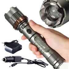 UltraFire E06 CREE XML T6 1000Lm Zoomable LED Flashlight Set:5 Modes,1 x Charger