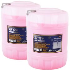 Kühlerfrostschutz Rot G12+ 2x 20 L Mannol Antifreeze AF12+ -40°C Kühlmittel