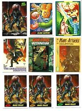 Mars Attacks occupation Backers promo pack of 9 cards all 3 P1 colors-gpk-plus..