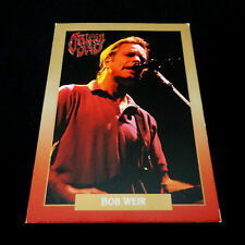Grateful Dead Baseball Card Bob Weir 1991 Gdm Rockcards Legacy Series Brockum