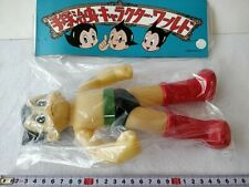 Vintage TEZUKA OSAMU Astro boy Atom PVC figure Sofvi Character Wolrd set-b801-