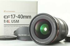 *MINT IN BOX* CANON EF 17-40mm F/4 L USM Wide Angle Zoom AF Lens From Japan