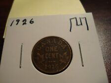 1926 - Canada 1 cent - Canadian penny -