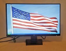HP 24w 23.8 LCD Widescreen Monitor Black HDMI VGA 1CA86AA Movies Game Office (9)