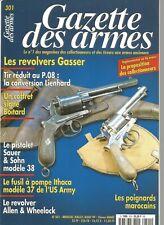 GAZETTE DES ARMES N°301 REVOLVERS GASSER / SAUER & SOHN MOD. 38 / ALLEN&WHEELOCK