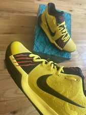 Very Rare NIKE KYRIE 3  SZ 8.5 MAMBA MENTALITY / Bruce Lee Used Only For Photos