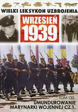 Polish Navy Uniforms September 1939 Part 1 - Military History - BOOK IN POLISH