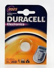 5x Duracell Cr2025 Lithium Batteries Battery Button Cell 3v OVP