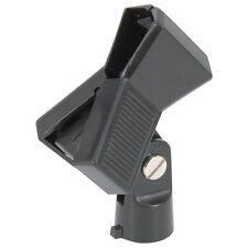 Attache à Ressort 3 Microphone PLASTIQUE Pince Support Inclus Adaptateur de Fil