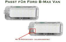 DEL SMD plaque d'immatriculation éclairage pour FORD B-Max van (s1)