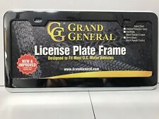 Chrome License Plate Frame with 2 Holes