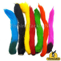 Veniard Calf Tails Fly Tying Fur Trout Salmon Pike Fishing Streamers Dry Fly