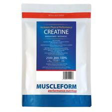 MUSCLEFORM™ CREATINE Monohydrate Micronised 500g | 100% PURE | 200 mesh |