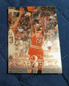 1999-2000 Topps Chrome Michael Jordan Back 2 Back Card #B1 nm - mint (see scan)