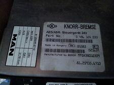 MAN L2000, ABS/ASR control unit 81259356710, 0486104033, 81259356664, 0265150353