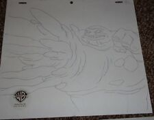 Batman Animated Series Production Drawing Clayface!