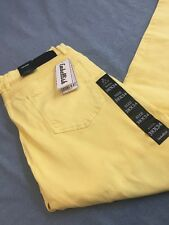 EMBELLISH YELLOW JEANS SZ 38/34 !!! NEW !!!