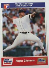 1992 Roger Clemens Diet Pepsi Collector's Series Card # 1 of 30