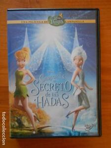 DVD CAMPANILLA EL SECRETO DE LAS HADAS - DISNEY (9O)